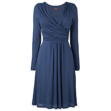 Buy Phase Eight Bronagh Wrap Front Dress, Navy Online at johnlewis.com