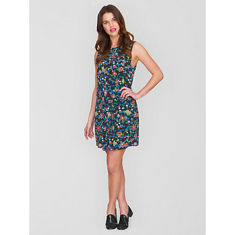 Buy Boutique by Jaeger Digital Print Silk Dress, Dark Multi Online at johnlewis.com