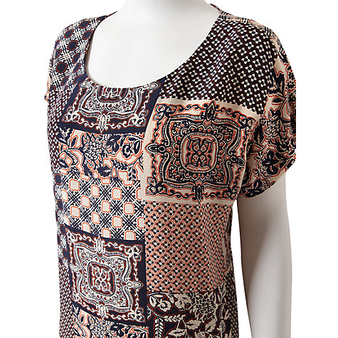 Buy East Nuria Silk Print Tunic, Multi Online at johnlewis.com