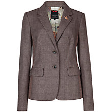 Buy Ted Baker Rometia Checked Blazer, Grey Online at johnlewis.com