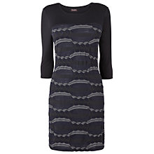 Buy Phase Eight Oakley Pattern Tunic, Black Online at johnlewis.com