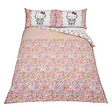 Buy Hello Kitty for Liberty Art Paisley Motif Duvet Cover and Pillowcase Set Online at johnlewis.com