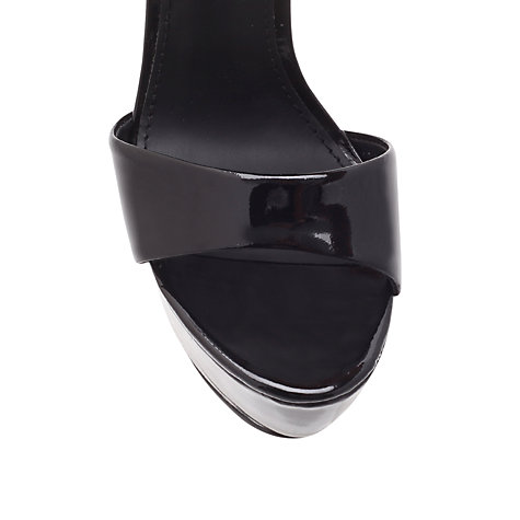 Buy KG by Kurt Geiger Nanette Platform Sandals, Black Online at johnlewis.com