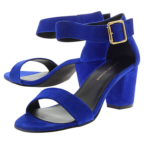 Buy KG by Kurt Geiger Nina Leather Sandals Online at johnlewis.com