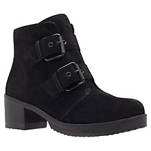Buy KG by Kurt Geiger Sand Ankle Boots, Black Online at johnlewis.com