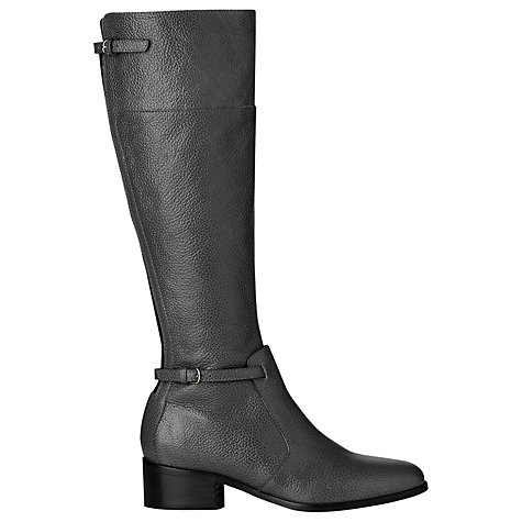 Buy L.K. Bennett Carole Grained Knee High Riding Boots Online at johnlewis.com