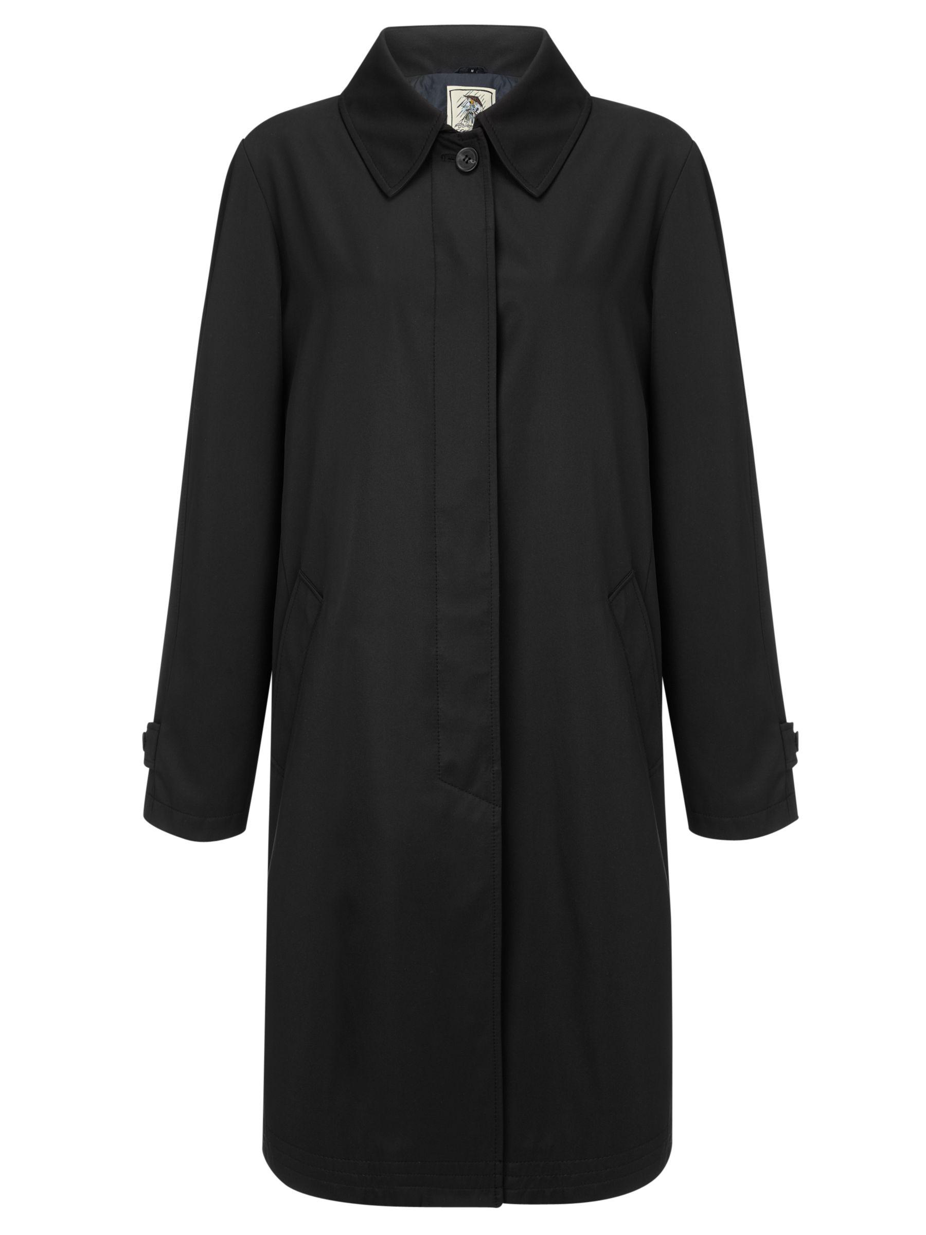Four Seasons London Raincoat, Black