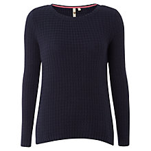 Buy White Stuff Tuesday Waffle Knit Jumper, Blue Online at johnlewis.com