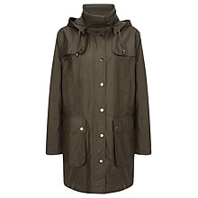 Buy Four Seasons Waxed Short Jacket, Forest Online at johnlewis.com