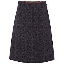 Buy White Stuff Labelling Reversible Skirt, Steel/Taupe Online at johnlewis.com
