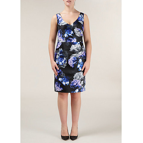 Buy Alexon Austere Bouquet Print Dress, Blue Online at johnlewis.com