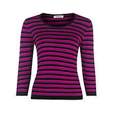 Buy Precis Petite Striped Jumper, Multi Online at johnlewis.com
