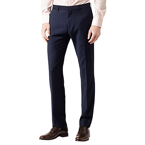Buy Reiss Youngs Trousers, Navy Online at johnlewis.com