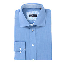 Buy Daniel Hechter End on End Weave Shirt, Blue Online at johnlewis.com