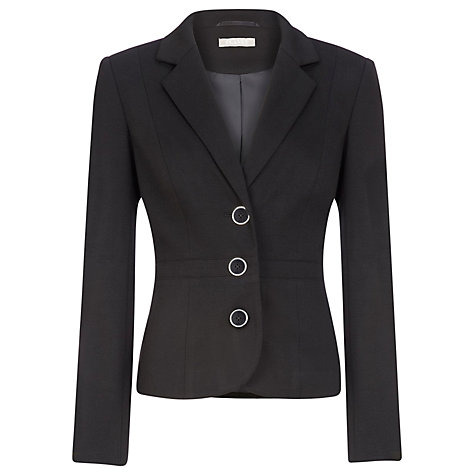 Buy Planet Short Tailored Jacket, Black Online at johnlewis.com