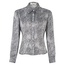 Buy Precis Petite Animal Print Blouse, Multi Online at johnlewis.com