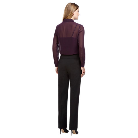 Buy Planet Embellished Chiffon Blouse, Purple Online at johnlewis.com
