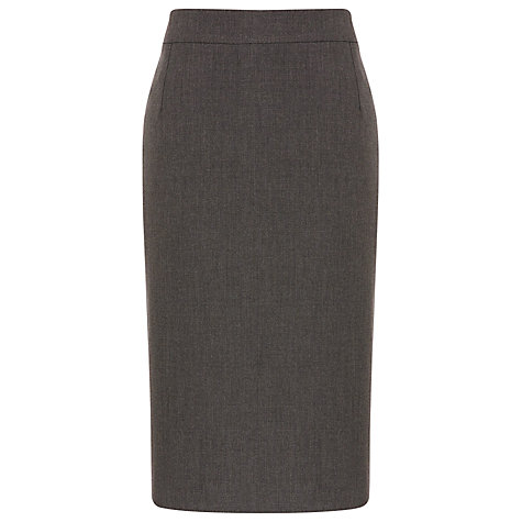 Buy Planet Pin Dot Pencil Skirt, Grey Online at johnlewis.com