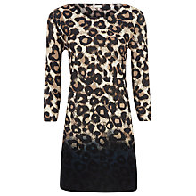 Buy Planet Animal Print Tunic Dress, Multi Online at johnlewis.com