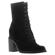 Buy KG by Kurt Geiger Saturn Ankle Boots, Black Online at johnlewis.com