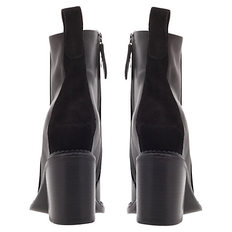 Buy KG by Kurt Geiger Stand Ankle Boots, Black Online at johnlewis.com