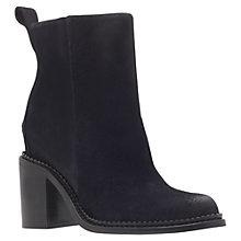 Buy KG by Kurt Geiger Stand Ankle Boots, Navy Online at johnlewis.com