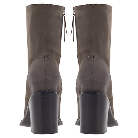 Buy KG by Kurt Geiger Saturn Ankle Boots, Grey Online at johnlewis.com
