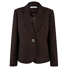 Buy Windsmoor Tailored Blazer, Chocolate Online at johnlewis.com