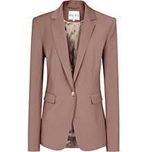 Buy Reiss Laurel Oak Tailored Jacket, Cherry Online at johnlewis.com