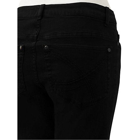 Buy East Stretch Jeans, Black Online at johnlewis.com