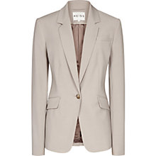Buy Reiss Steel Bay Fitted Jacket, Pebble Online at johnlewis.com