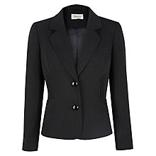 Buy Precis Petite Tailored Jacket, Black/Ivory Online at johnlewis.com