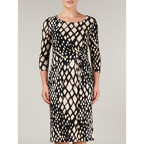 Buy Precis Petite Animal Print Jersey Dress, Multi Online at johnlewis.com