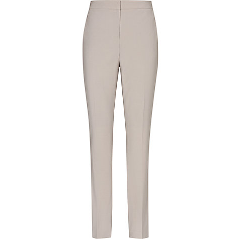 Buy Reiss Paris Bay Straight Cut Trousers, Pebble Online at johnlewis.com