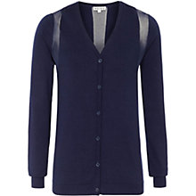 Buy Reiss Bebbington Cardigan, Navy Online at johnlewis.com