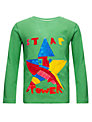 Kids Company Star Long Sleeved Top, Green/Multi