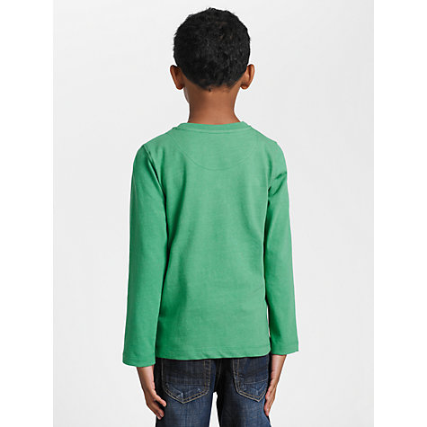 Buy Kids Company Star Long Sleeved Top, Green/Multi Online at johnlewis.com