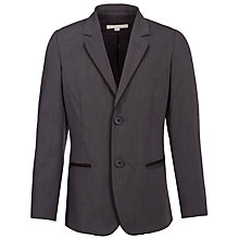 Buy John Lewis Heirloom Collection Boys' Slim Fit Pinhead Jacket, Black Online at johnlewis.com