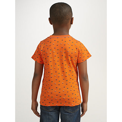 Buy John Lewis Boy Printed Short Sleeve T-Shirt Online at johnlewis.com