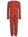 Kids Company Christmas Tree Onesie, Red/Multi