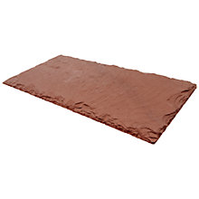 Buy Just Slate Serving Platter, Brown Online at johnlewis.com