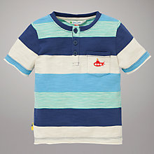 Buy John Lewis Mix Stripe Grandad T-Shirt Online at johnlewis.com
