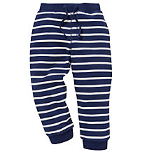 Buy John Lewis Stripe Joggers, Blue/White Online at johnlewis.com