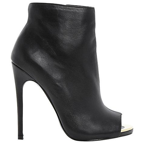 Buy Steve Madden Dianna Ankle Boots, Black Online at johnlewis.com