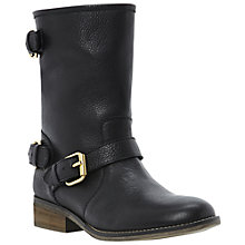 Buy Steve Madden Energize Ankle Boots, Black Online at johnlewis.com