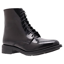 Buy Kurt Geiger Spencer Ankle Boots, Black Online at johnlewis.com
