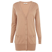 Buy Oasis Boyfriend Cardigan, Camel Online at johnlewis.com