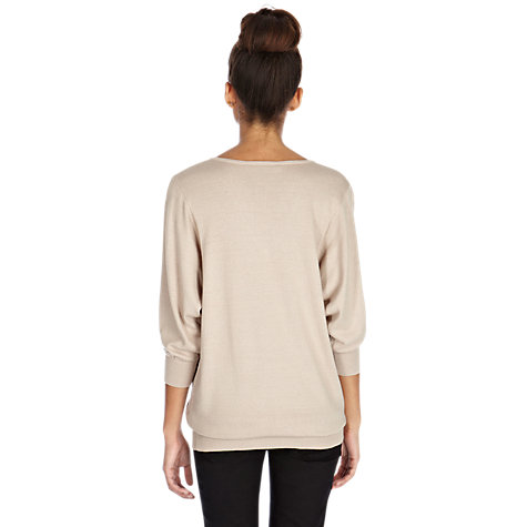 Buy Oasis Lace Batwing Top Online at johnlewis.com