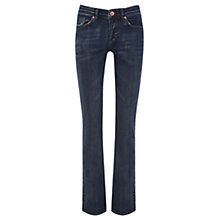 Buy Oasis Denim Eva Bootcut Jeans, Denim Online at johnlewis.com