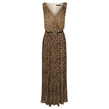 Buy Oasis Leopard Print Maxi Dress, Animal Print Online at johnlewis.com
